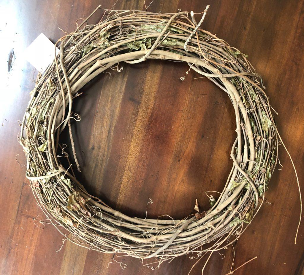 """18"""" grapevine wreath"""